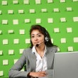 Businesswoman on workplace — Stock Photo #30906057