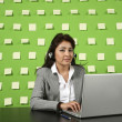 Businesswomon workplace — Stock Photo #30906365