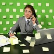 Businesswoman talking to cellphone — Stock Photo #30908537