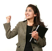 Portrait of a woman in career — Stock Photo