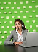 Businesswoman on workplace — Stock Photo