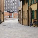 狭い通り — ストック写真