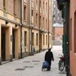 狭窄的街道 — 图库照片