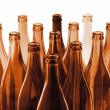 Brown bottles — Foto Stock