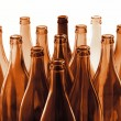 Stock Photo: Brown bottles