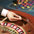 Roulette in casino — Stock Photo