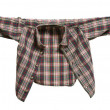 Stock Photo: Little brown shirt on clothesline