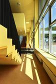 Public school, staircase and corridor — Photo