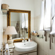 Stock Photo: Loft furnished, bathroom