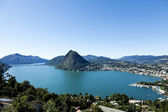 Lake of Lugano — Stock Photo