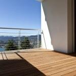 Modern apartment, balcony — Stock Photo #35259057