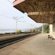 Railway station — Stock Photo #35420147