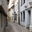Street in old Riga, Latvia — Stock Photo