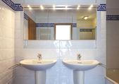 Interior bathroom — Stock Photo