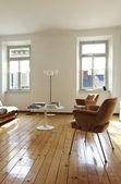Living-room, nice apartment refitted — Stock Photo
