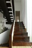 Black staircase — Stock Photo