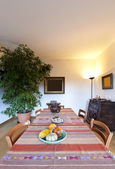 Dining table, interior — ストック写真