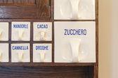 Antique kitchen cabinet — Стоковое фото