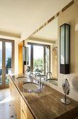 Interior, bathroom — Stock Photo