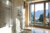 Beautiful apartment, interior, bathroom — Stock fotografie