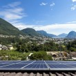 Solar panels on the roof — Stock Photo #38904961