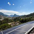 Solar panels on the roof — Stock Photo #38905539