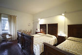 Traditional bedroom — Stock Photo
