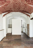 Old house, vaulted ceiling — Stock Photo