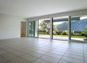 Modern apartment, living room — Stock Photo