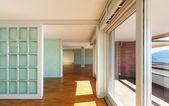 Empty apartment classic — Stock Photo