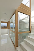 Stairwell of a modern home — Stock Photo
