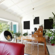 Stock Photo: Interior loft, furnished living room