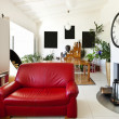 Interior loft, living room — Stock Photo #41687459