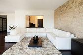 Obývací pokoj, luxusní byt — Stock fotografie