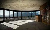 Many windows, Abandoned building — Stock fotografie