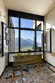 Empty room with window — Stock Photo