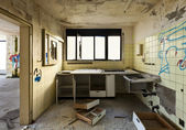 Interior abandoned house — Stock Photo
