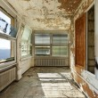 Abandoned house, interior — Stock Photo