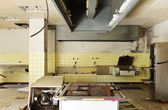 Old kitchen destroyed — Stock Photo
