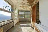 Abandoned house, interior — Stock Photo