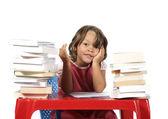 Dziewczynka studia — Zdjęcie stockowe