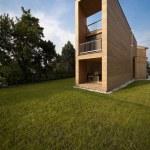 Ecologic house, outdoors — Stock Photo #43422481