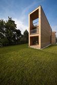 Ecologic house, outdoors — Stock Photo