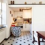 Small apartment, kitchen — Stock Photo #43437833