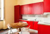 Domestic kitchen — Stock Photo