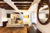 Apartment classic, interior — Stock Photo