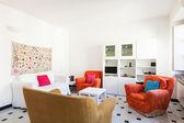 Apartment, living room — Stock Photo