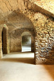 Cave in historic building — Foto de Stock