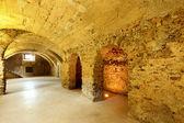 Cave in historic building — Foto de Stock