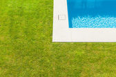 Detail swimming pool — Stock Photo